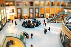 Shopping Mall (Dance while the record spins....) Tags: glass shopping hongkong model asia fake tiles shoppingmall marble escalators minature tiltshift simonkirwin
