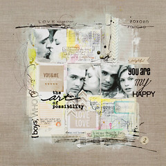 the art of possibility (ania-maria) Tags: ink scrapbooking layout us gray lo pastels draw annamaria scrap gesso ils mixmedia youme panpastels ilowescrap aniamaria