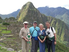 Photo representing Sparty in Peru, 2008