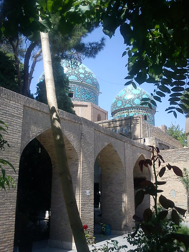 Kerman_Moshtaghiyeh Dome, built during the qajar era, is the resting place of Moshtaq ali shah.