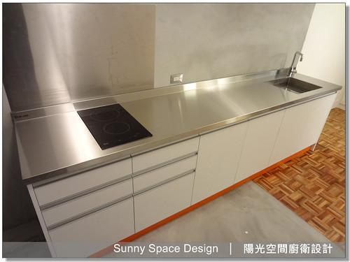 廚具大王林易延-永和豫溪街楊小姐達榮不銹鋼廚具-陽光空間廚衛設計6