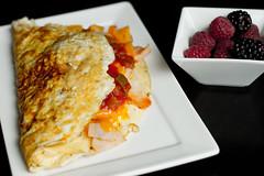 64/366 Omlette (melbaczuk) Tags: food canon 50mm bc okanagan foodporn kelowna challenge foodie omlette foodphotography fooding egges 366 3651 3651project canon7d breakfastkelowna
