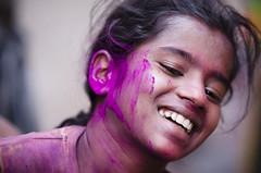 Happy Holi... (MRK Clicks) Tags: street morning india boys colors festival nikon moments action spray freeze chennai holi mrk festivalofindia happymoments jollygood narrowlanes festivalofcolors redgreenyellowblue sowcarpet mrkclicks