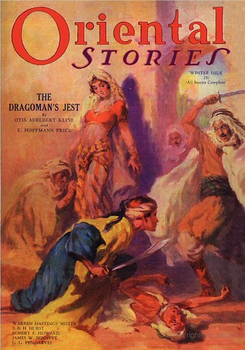 68 Oriental Stories, Vol 2, No. 1 (Winter 1932) Front 15-Jan-2008 Wildside Press Pulp Magazine Reprint Includes The Dragoman's Jest by E. Hoffmann Price and Otis Adelbert Kline
