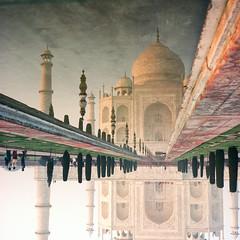 Taj Mahal Reflection