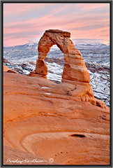 Delicate Arch (Pradeep Sridharan) Tags: skyline landscape arches navajo delicate entrata