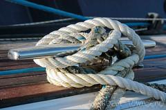 Yacht Knot (fin townsend) Tags: ireland marina pier boat canal dock yacht grand rope knot deck kinsale maritime decking moorings grandcanaldock gougane barrast finbarrconnemara