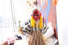 Les poupes du GAFFO (Groupe Artisanal Fminin Francophone de l'Ontario) Tags: toronto ontario art centre femme figurine artisanal masque africaine francophonie communautaire baoul