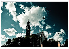 Amsterdam - Westerkerk (dav fan) Tags: amsterdam westerkerk