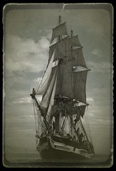 Pilgrim II - 1985 (L.Clark Photography) Tags: ship tallship brig pilgrim pilgrimii