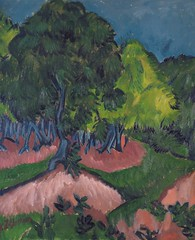 Ernest Ludwig Kirchner - Landscape with Chestnut Tree, 1913 at Museo Thyssen-Bornemisza Madrid Spain (mbell1975) Tags: madrid tree art museum painting landscape spain gallery museu with expression fine arts muse musee m espana expressionism expressionist chestnut museo ernest thyssen ludwig muzeum kirchner mze thyssenbornemisza bornemisza museumuseum