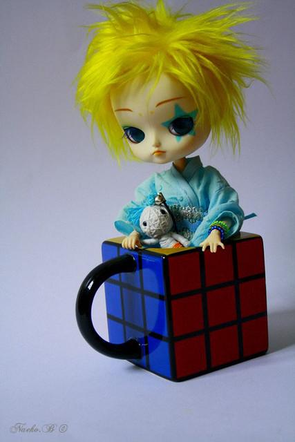 Rubiks cube Mug ~ Curaçao | Dal Cinnamorol FC
