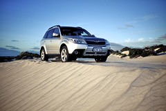Forester at Lancelin (Krav Man) Tags: car 4x4 dunes 4wd subaru suv forester lancelin