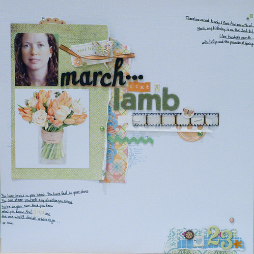 march... like a lamb