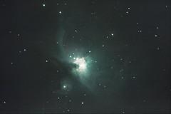 Orion Nebula M42 NGC 1976 (keithjherbert) Tags: uk longexposure london nature night canon eos surrey astrophotography m42 dorking 500d orionnebula deepskystacker northholmwood Astrometrydotnet:status=solved Astrometrydotnet:version=14400 Astrometrydotnet:id=alpha20120532283007