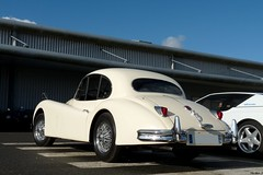 Jaguar XK140 (Nico_bzh29) Tags: mans le british jaguar xk xk140 carsautomobilevoituresportscarcochesportivedetailvieuxpistonsbretonsbzhbretagneguipavas