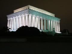Lincoln Memorial at Night (kskyenb) Tags: trip night washingtondc dc washington districtofcolumbia memorial lincoln lincolnmemorial 2012
