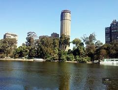 Cairo by Galaxy S II (Hossam all line) Tags: blue sky river egypt nile cairo  zamalek