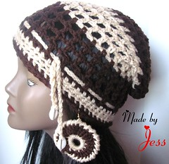 "Crochet Mesh Hat Set • <a style=""font-size:0.8em;"" href=""http://www.flickr.com/photos/66263733@N06/6913878637/"" target=""_blank"">View on Flickr</a>"