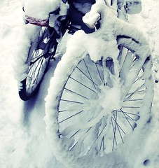 snow wheeling (irisbez) Tags: streetart public netherlands wordpress grafitty dutchtown haarlemcity irisbez