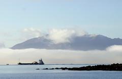 """""""Passing By"""" (Robin Bain) Tags: coast ships shipping arran ayrshirecoast robinbain"""
