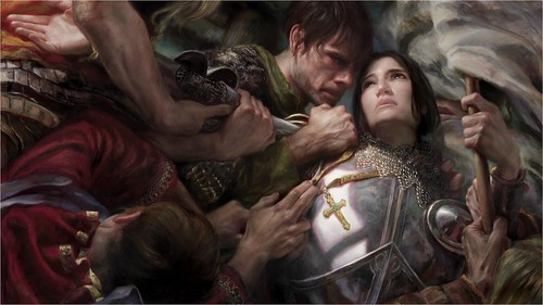 Joan of Arc - Donato Giancola, 2011