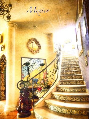 stairs mexico casa puertovallarta hacienda zedzap (Photo: Nick Kenrick. on Flickr)