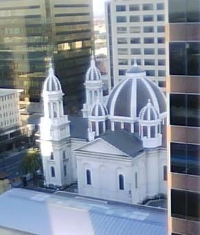 Cathedral Basilica of St. Jose    -- (1803 Saint Joseph Church, 1877 Saint Joseph Cathedral)