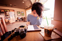 KT at Starbucks (JosephAbad) Tags:
