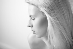 Anne I ([andrea kuhn photography]) Tags: bw blonde bwbeauty beautyphotography photographyberlin andreakuhn modelberlin