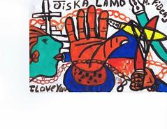 PAP-DAV-11 (moralfibersco) Tags: art latinamerica painting haiti gallery child fineart culture scan collection countries artists caribbean emerging voodoo creole developingcountries developing portauprince internationaldevelopment ayiti