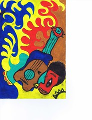 PAP-DAV-16 (moralfibersco) Tags: art latinamerica painting haiti gallery child fineart culture scan collection countries artists caribbean emerging voodoo creole developingcountries developing portauprince internationaldevelopment ayiti