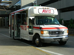 Avis (So Cal Metro) Tags: bus ford car louisiana neworleans rental shuttle minibus avis cutaway econoline rentacar eseries