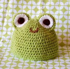 Gorro Sapito / Frog Hat (~ tilde ~) Tags: baby hat gorro crochet frog sapo