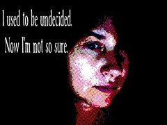 Undecided (brainy_bee (off for now)) Tags: california black art self losangeles brain brainsurgery thepersonalispolitical brainybee
