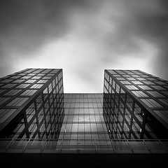 Everest.. (Peter Levi) Tags: city longexposure blackandwhite bw building blancoynegro architecture clouds cityscape sweden stockholm le nd110 mygearandme mygearandmepremium mygearandmebronze mygearandmesilver mygearandmegold dblringexcellence tplringexcellence