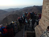 Waiting for the sunrise at Mount Sinai P1160733