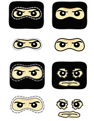 Bacalavas (Dirks_Designs) Tags: face lego mask masks legos decal minifig decals facemask minifigure bacalava bacalavas