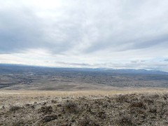Looking south over the Yakima Valley as we head up Skyline