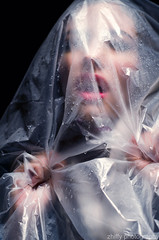 Suffocated (zhiffy) Tags: lighting beautiful beauty fashion studio model photoshoot makeup mysterious