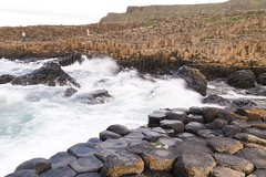 Giant's Causeway waves
