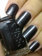 over the top, essie (nails@mands) Tags: black nail nagellack polish preto nailpolish mands overthetop essie lacquer vernis metalico verniz