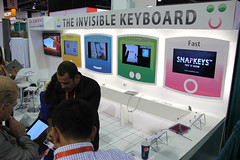 Where The Hell IS It!? - 2012 CES - Las Vegas, NV (tossmeanote) Tags: show las pink vegas blue white color green yellow comfortable canon demo eos keyboard colorful invisible nevada january fast exhibit screen full nv electronics convention pepsi ces simple consumer 2012 cea exhibitor lvcc 18135 60d tossmeanote snapkeys