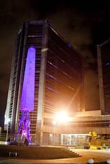 Plaza de la República noche