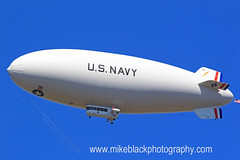 U.S. Navy Airship New Jersey (Mike Black photography) Tags: new blue red sky usa white black mike wall canon airplane us flying flag military air flight navy than jersey airship marines lighter belmar f28 hindenburg dirigible lakehurst 400mm