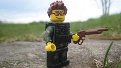 (The Brick Guy) Tags: outside lego action military prototype vest custom printed minifigure brickarms modernwarfare amazingarmory eclipsegrafx