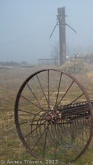 Wooden Silo (Anne's Travels 4) Tags: california tractor farm antiques tractors nationalmonument carrizo drylandfarming farmingequipment carrizonationalmonument