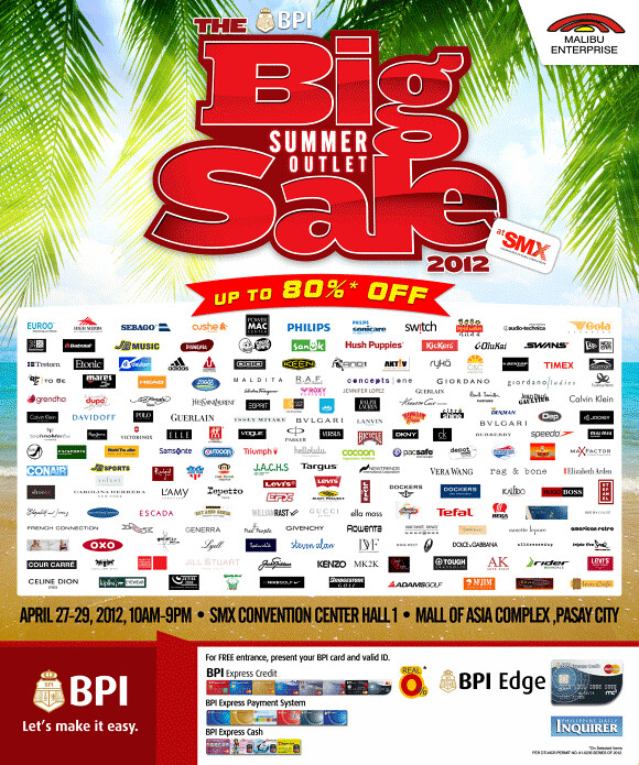 The BIG Summer Outlet Sale 2012