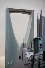 Kingdom Tower + Tower Anoud (Hamzah T) Tags: tower kingdom anoud