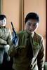 Pyongyang, North Korea Gun Range (Joseph A Ferris III) Tags: girls cute bird gun pheasant pistol northkorea pyongyang gunrange dprk
